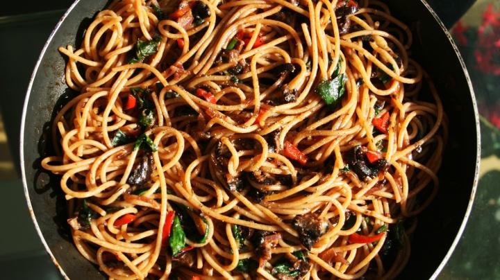 Spaghetti-Spinach